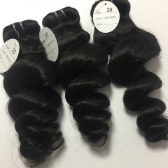 Raw indian hair 4pcs+closure