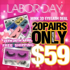Mink 3d lashes Labor Day SALE!!!