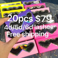 LASHES Sales