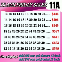 11A Hair Black day sales