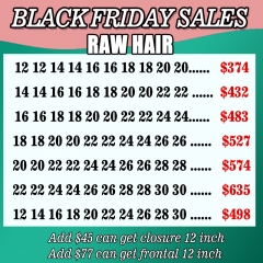 Raw indain Hair Black Friday wholesale